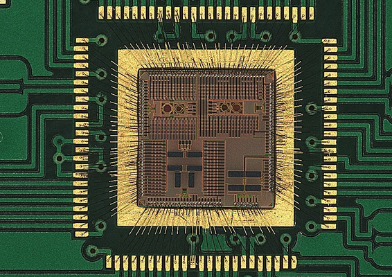 Die Gold Bonded to PCB